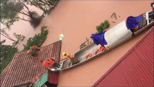 Quảng Bình: Rợn người phát hiện thi thể nổi trong vườn nhà sau khi nước rút bớt-1