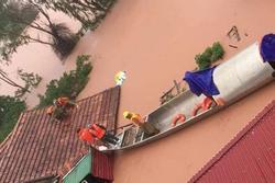 Quảng Bình: Rợn người phát hiện thi thể nổi trong vườn nhà sau khi nước rút bớt