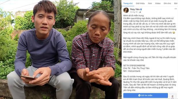 Gửi 50 triệu ủng hộ miền Trung, mẹ con bà Tân Vlog vẫn bị cạnh khóe-1
