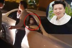 Xôn xao clip Nguyễn Trọng Hưng chở gái lạ, va chạm giao thông trên phố Hà Nội