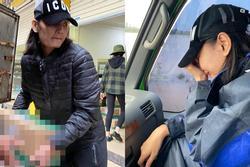 Đoàn cứu trợ của người mẫu Lê Thúy bị nhận xét 'từ thiện xảo trá'