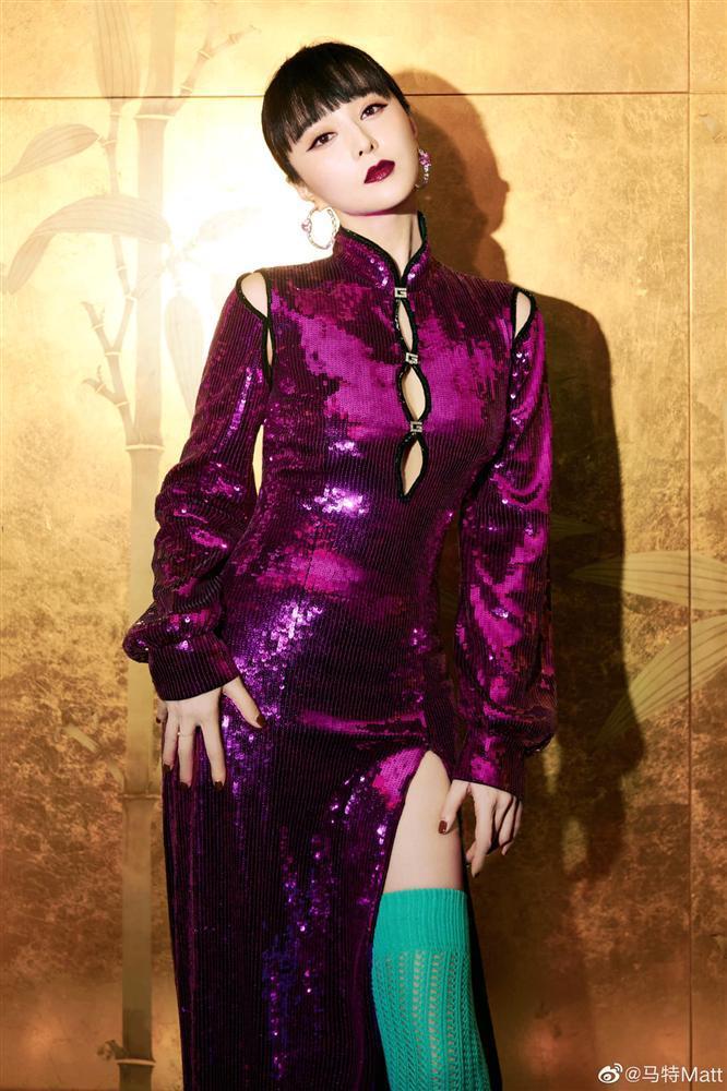 Phạm Băng Băng diện trang phục sến rện, lộ rõ dấu hiệu lão hóa-10