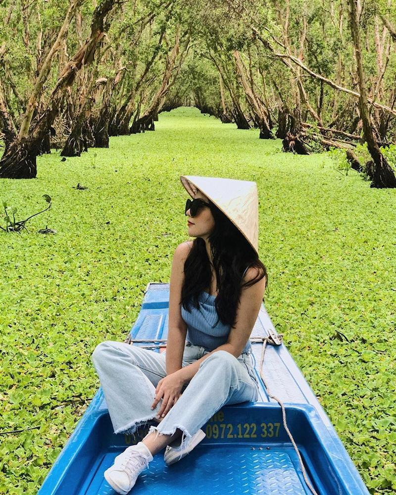 Chìm đắm trong màu xanh mê hoặc của rừng tràm Trà Sư mùa nước nổi-6