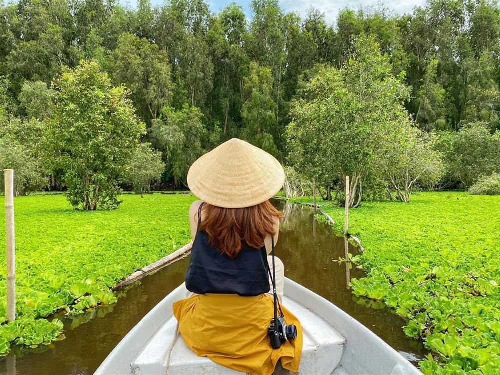 Chìm đắm trong màu xanh mê hoặc của rừng tràm Trà Sư mùa nước nổi-7