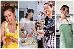Những nàng hậu 'mặt xinh đẹp, tay đảm đang', đã vào bếp nấu là phải ngon