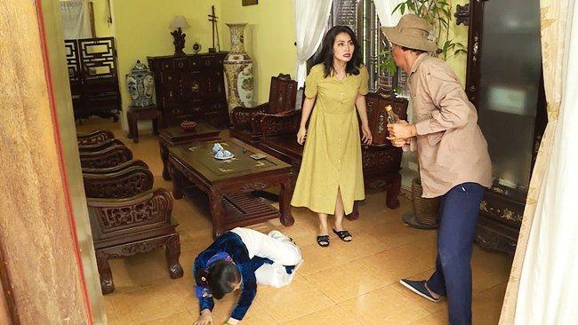 Ngọc Lan bị đánh ghen trên màn ảnh: xé áo rách vai vẫn chưa bằng bị tạt axit-4