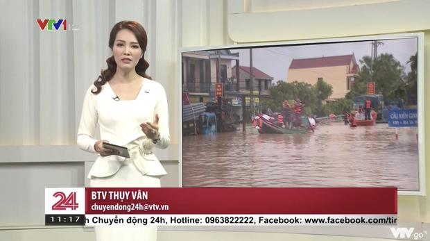 Á hậu Thụy Vân tái xuất trên truyền hình sau tin đồn đã nghỉ việc ở VTV-1