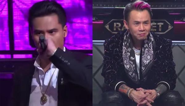 Suốt 3 vòng Rap Việt, biểu cảm của Binz khi xem GDucky biểu diễn rất đáng chú ý-2