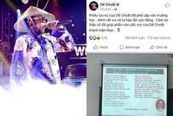 Xôn xao bản rap 'Phiêu Lưu Ký' của Dế Choắt được đưa vào dạy học, chính chủ xúc động tự hào nhưng sau đó lại xoá đi?