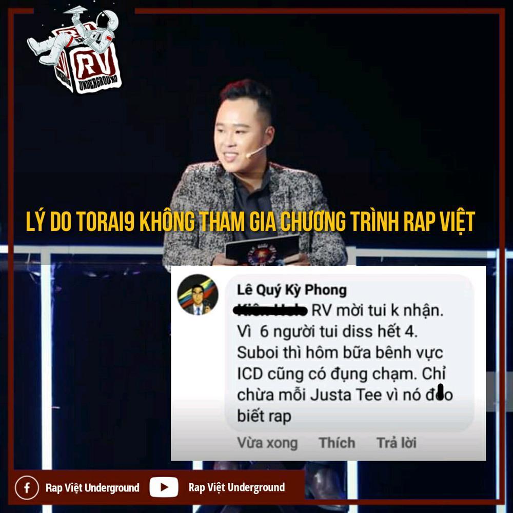 Nam rapper trót lỡ lời một ly, e-kip Rap Việt khiến người này đi luôn ngàn dặm-1