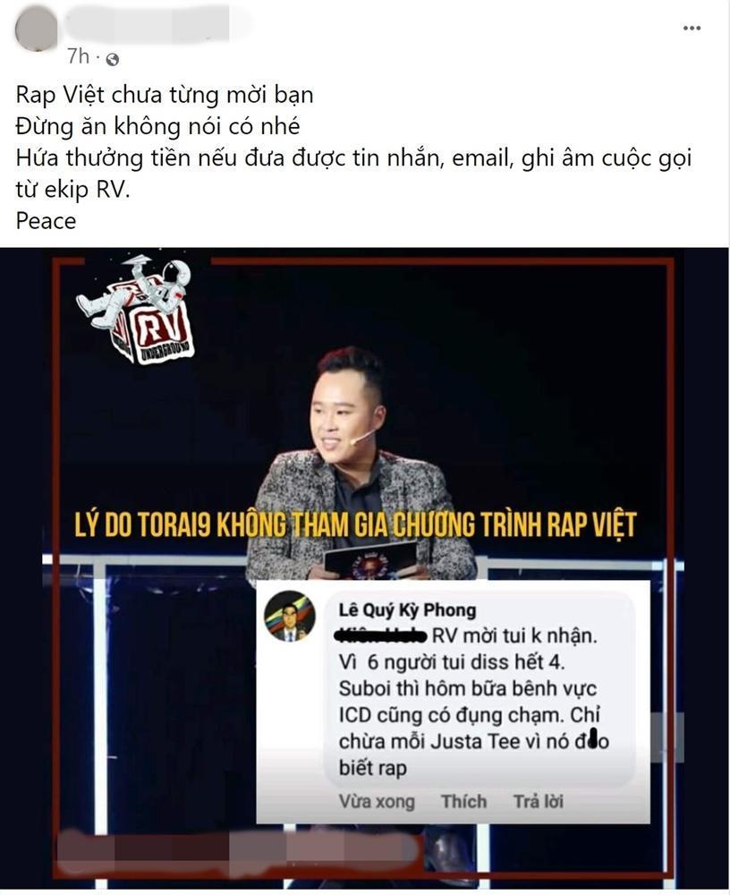 Nam rapper trót lỡ lời một ly, e-kip Rap Việt khiến người này đi luôn ngàn dặm-4