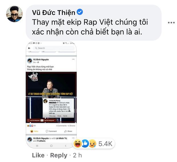 Nam rapper trót lỡ lời một ly, e-kip Rap Việt khiến người này đi luôn ngàn dặm-3