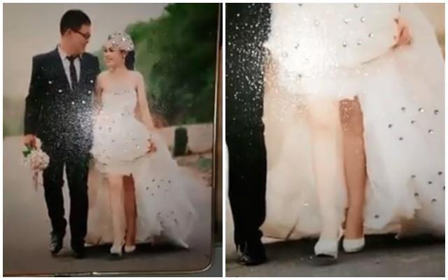 Những bức ảnh cưới xấu ma chê quỷ hờn, cô dâu chú rể xem xong chỉ muốn độn thổ-10