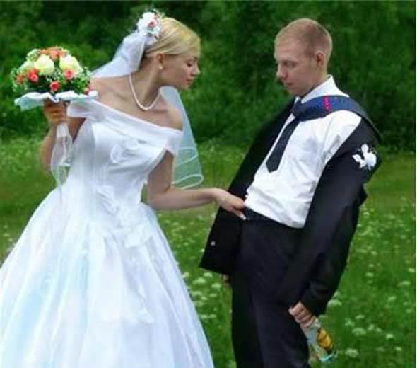Những bức ảnh cưới xấu ma chê quỷ hờn, cô dâu chú rể xem xong chỉ muốn độn thổ-11