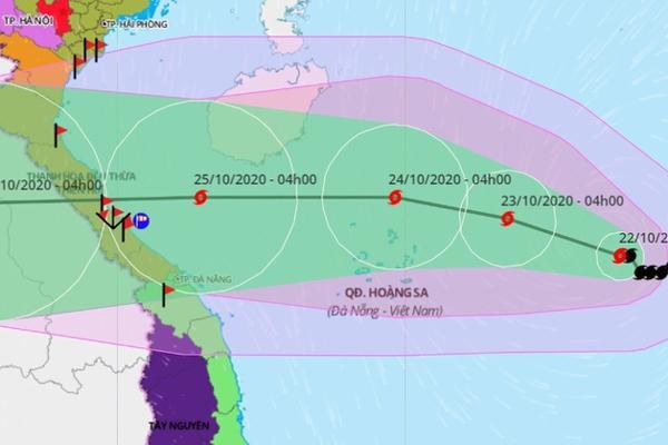 Bão nối bão vào Biển Đông-1