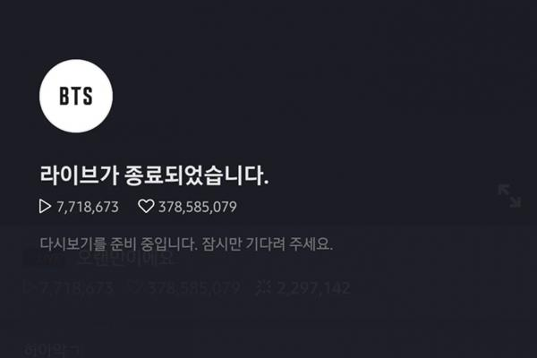 Netizens hoảng loạn khi nhìn số lượng người xem live của Jimin và Suga BTS-4