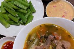 Học Tóc Tiên nấu cơm tối 'ngon, nhanh, gọn, lẹ' khiến cả nhà ăn không dừng đũa