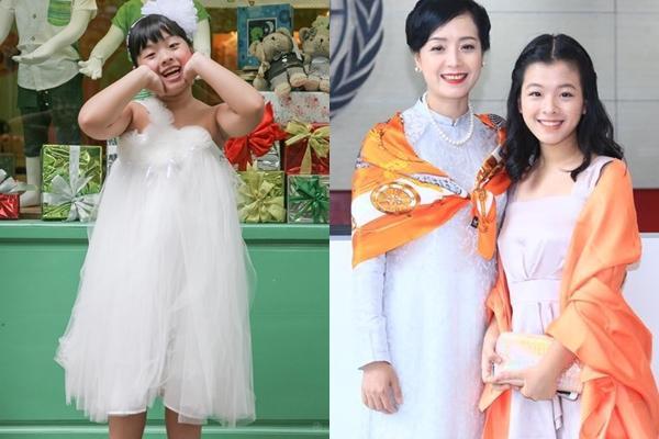 Chụp ảnh cùng gia đình, nhan sắc con gái út nghệ sĩ Chiều Xuân lấn lướt mẹ và chị-1