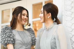 Á hậu Ngô Trà My lộ khuyết điểm khi đọ sắc em gái Thanh Tú