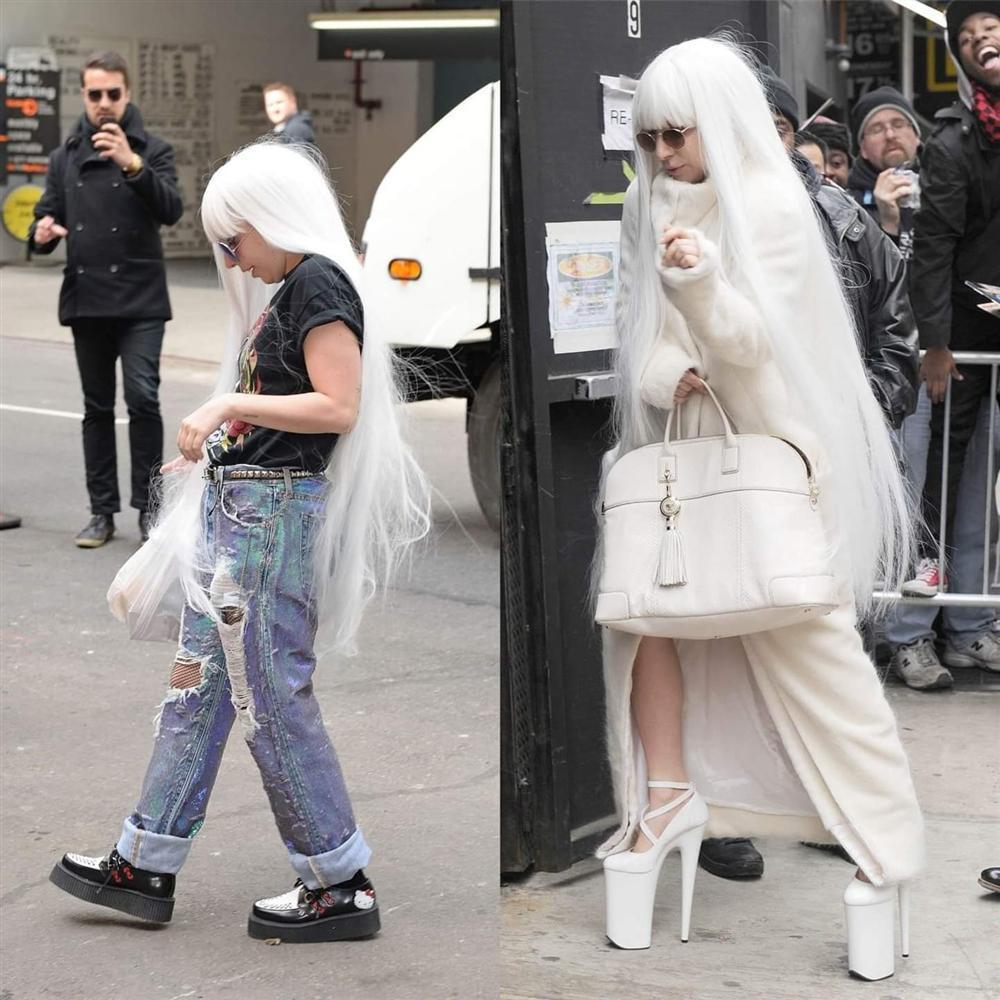 Những lần Thị Dậu Lady Gaga gây chú ý vì chiều cao quá khiêm tốn-1