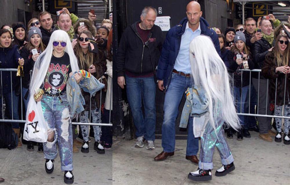 Những lần Thị Dậu Lady Gaga gây chú ý vì chiều cao quá khiêm tốn-2