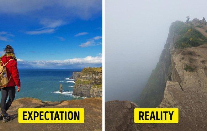 Cái kết của việc đi du lịch nhưng không xem ngày, du khách đứng hình khi nhìn thực tế-2