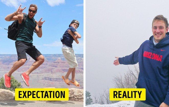 Cái kết của việc đi du lịch nhưng không xem ngày, du khách đứng hình khi nhìn thực tế-5