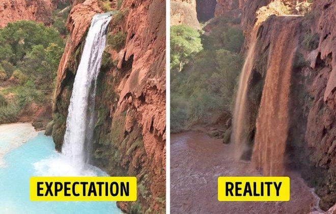 Cái kết của việc đi du lịch nhưng không xem ngày, du khách đứng hình khi nhìn thực tế-6
