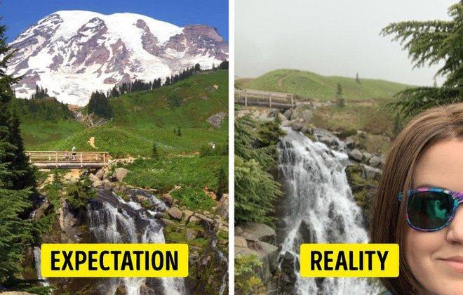 Cái kết của việc đi du lịch nhưng không xem ngày, du khách đứng hình khi nhìn thực tế-7