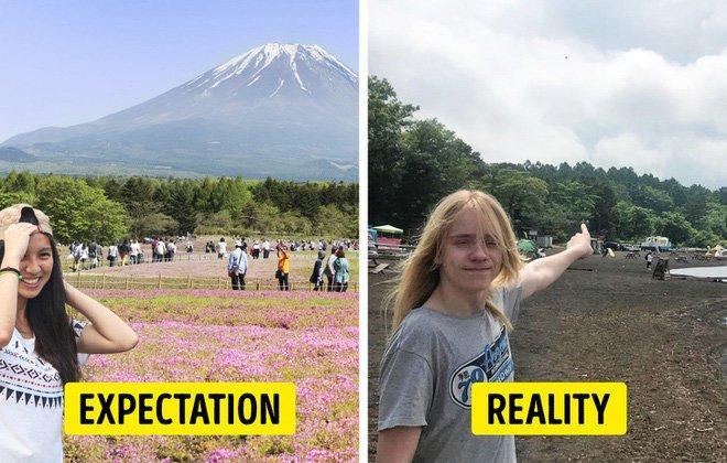 Cái kết của việc đi du lịch nhưng không xem ngày, du khách đứng hình khi nhìn thực tế-9