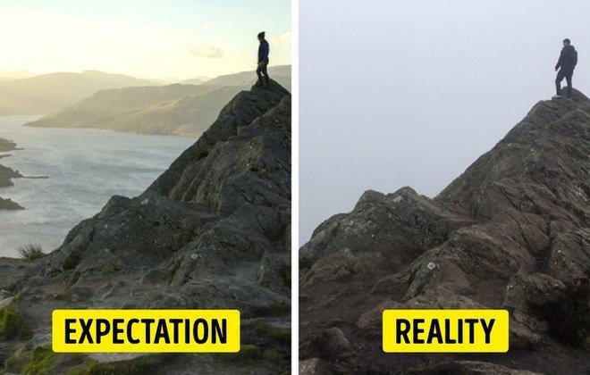 Cái kết của việc đi du lịch nhưng không xem ngày, du khách đứng hình khi nhìn thực tế-10