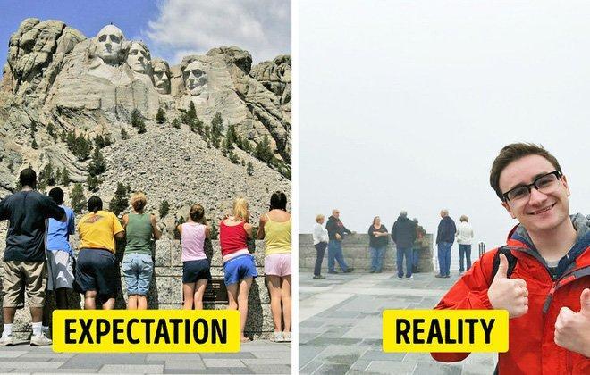 Cái kết của việc đi du lịch nhưng không xem ngày, du khách đứng hình khi nhìn thực tế-12