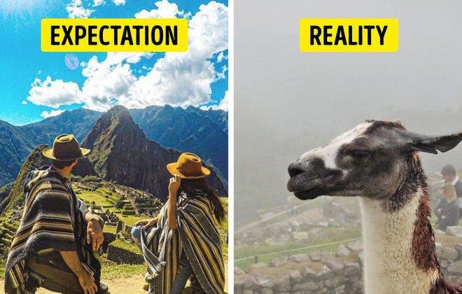 Cái kết của việc đi du lịch nhưng không xem ngày, du khách đứng hình khi nhìn thực tế-13