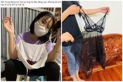 Ủng hộ bà con lũ lụt miền Trung toàn áo lót, quần chíp: 'Từ thiện hay dọn rác?'