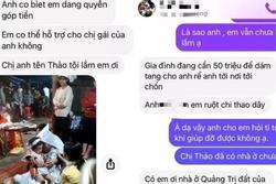 Nhiều tài khoản Facebook mạo danh người thân kêu gọi ủng hộ vợ nạn nhân tử nạn ở Rào Trăng 3