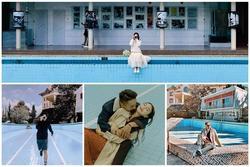 Phát hiện background 'bể bơi cạn nước' đậm chất điện ảnh ngay giữa trung tâm Đà Lạt