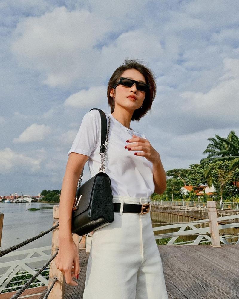 Chẳng cần hở bạo, Linh Ka - Mlee mix đồ matchy matchy ấn tượng ngày giao mùa-5
