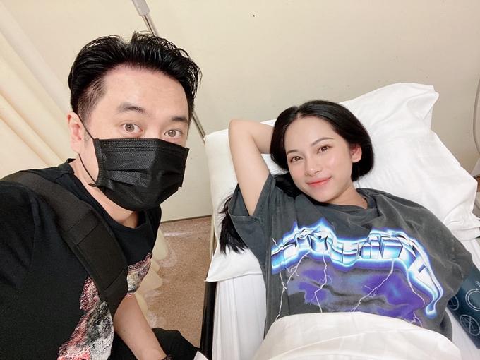 Vợ chồng Dương Khắc Linh - Sara Lưu khoe cặp quý tử song sinh-2