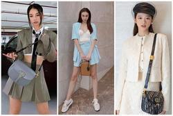 Chẳng cần hở bạo, Linh Ka - Mlee mix đồ matchy matchy ấn tượng ngày giao mùa