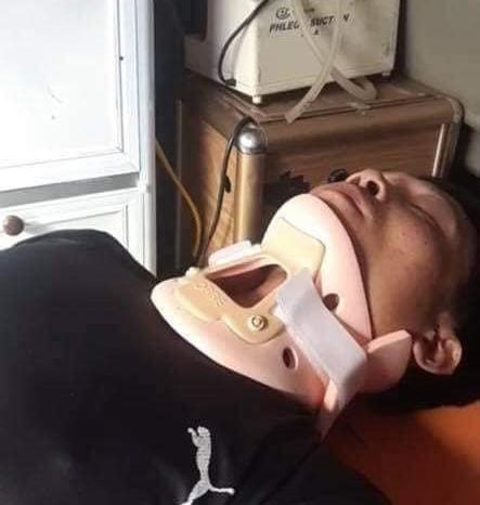 Vợ tài xế chở hàng cứu trợ miền Trung bị lật xe: Anh chấn thương sọ não, mê man không nhận ra ai-3