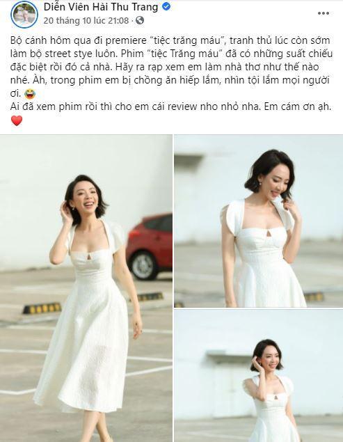 Bị chỉ trích vô cảm với đồng bào miền Trung, Thu Trang đáp trả: Đừng dạy tôi cách sống-1
