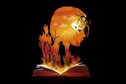 Bạn nhìn thấy người phụ nữ hay cuốn sách? Câu trả lời tiết lộ bạn có phải là người rộng lượng