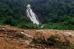 Quảng Bình: 4 người đi rừng bị sạt lở vùi lấp, 1 người tử vong, 3 người mất tích