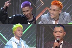 Lóa mắt trước những mái tóc sặc sỡ màu sắc của thí sinh Rap Việt