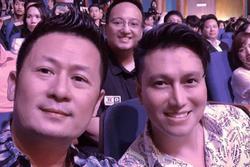 Chung khung hình với Bằng Kiều ở sự kiện, Việt Anh khiến netizen hốt hoảng vì mũi lệch bất thường hậu 'dao kéo'
