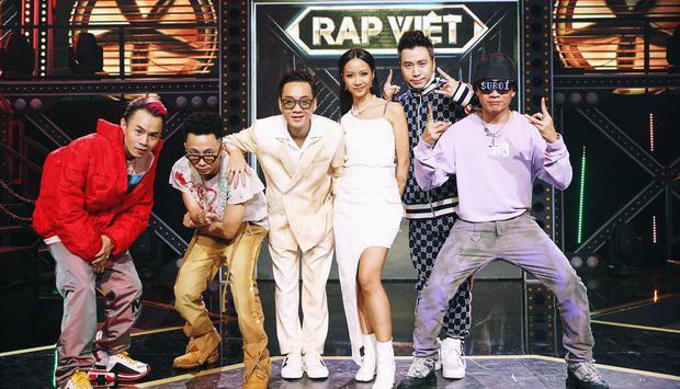 Dàn sao Rap Việt sau 2 tháng đồng hành cùng show: Ai là người lời nhất?-1
