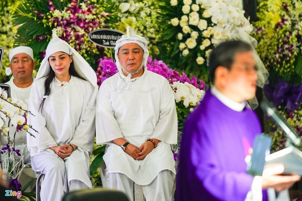 Lý Sơn, Lý Hùng khóc khi tiễn biệt NSND Lý Huỳnh-2