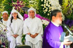 Lý Sơn, Lý Hùng khóc khi tiễn biệt NSND Lý Huỳnh