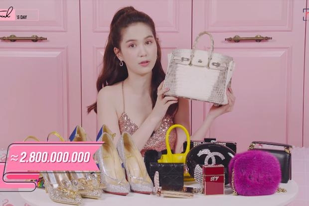 Giúp việc nhà Ngọc Trinh lên đời xách túi Hermès, đeo đồng hồ xa xỉ tổng 7,3 tỷ đồng-5