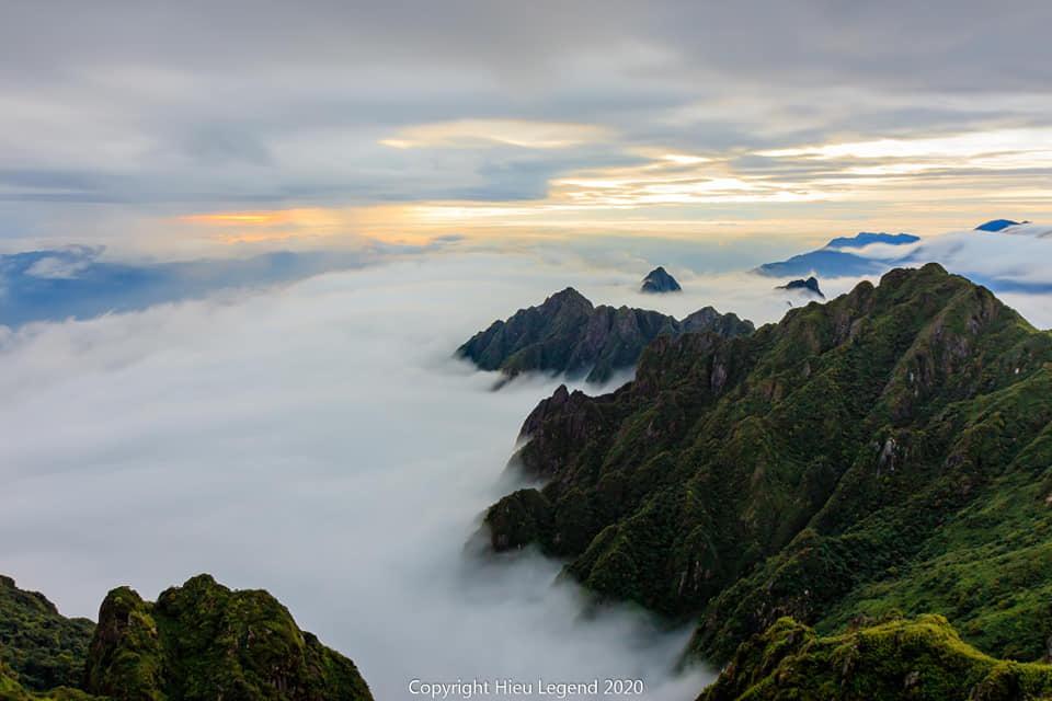 Khung cảnh biển mây tựa chốn thiên đường ở Sa Pa-6